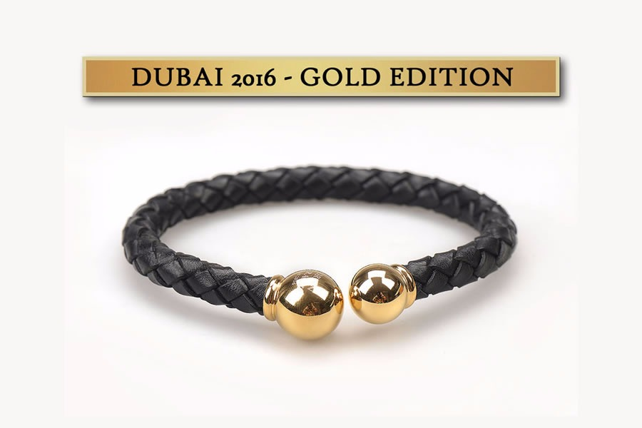 BRATARA BARBATI DUBAI 2016 GOLD EDITION